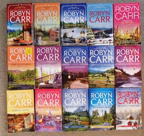 Virgin River Series Complete Set (Books 1-18): My Kind of Christmas, Sunrise Point, Redwood Bend,hidden Summit, Bring Me Home for Christmas, Harvest Moon, Wild Man Creek, Promise Canyon, Moonlight Road, Angel's Peak, Forbidden Falls ...