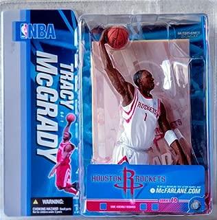 McFarlane Toys NBA Sports Picks Series 10 Action Figure Tracy McGrady (Houston Rockets) White Jersey Variant