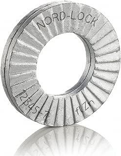 25 glued pairs//box Nord-Lock Wedge locking washer Carbon Stl Zinc flake coated through hard M52 2