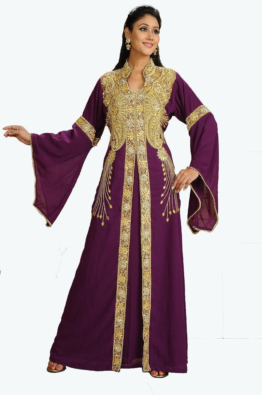 MaximCreation Women's Royal Fancy Jalabiya Kaftan