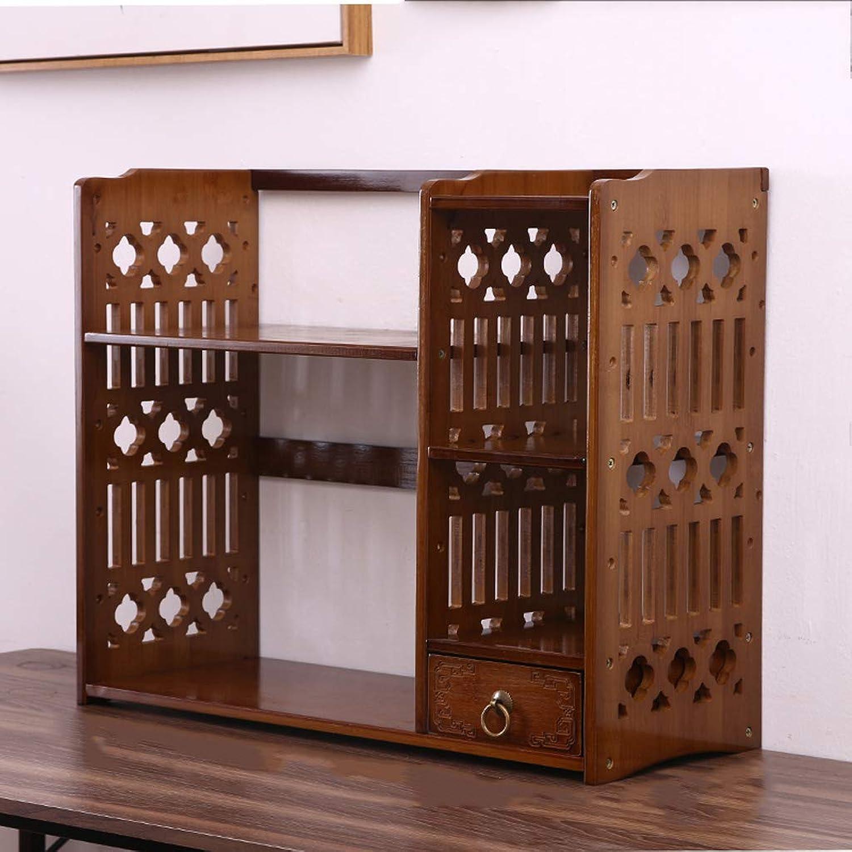 Modern Dormitory Storage Small Bookcase Simple Fashion Desktop Student Bookshelf Creative Desk Shelf Racks