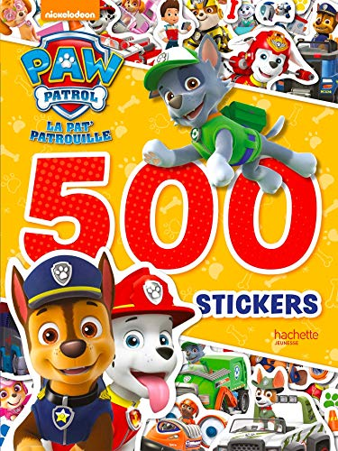 Paw Patrol-La PatPatrouille - 500 stickers