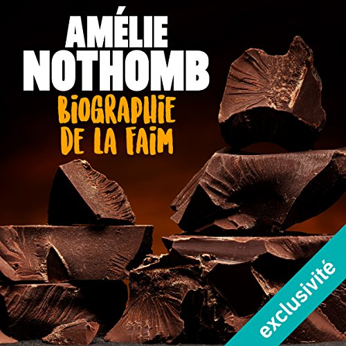 Biographie de la faim audiobook cover art