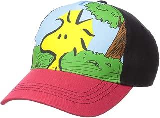 Boys' Big Woodstock Bird Baseball Cap, Black/Red, One Size
