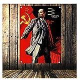 nr Lenin Portrait Poster Sowjetführer Vladimir Vintage