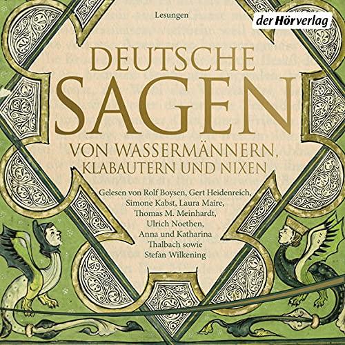 Deutsche Sagen von Wassermännern, Klabautern und Nixen Titelbild
