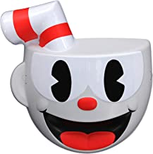 elope Cuphead Costume Vacuform Mask Red