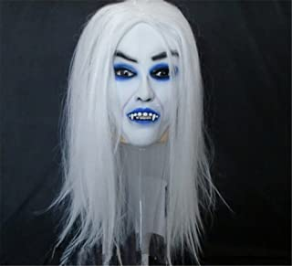 Tricky Horror Grimace Ghost Mask Scary Zombie Halloween by Wanheyao