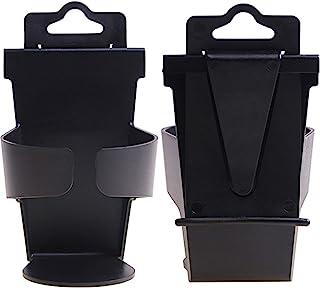 jingming 2 Stück Autogetränkegestell Universal Autogetränkhalter Wasserbecherflaschen Dosenhalter Türhalterung Kaffeegetränke und Getränkedose Veranstalter Korb Auto Styling, Auto Becherhalter
