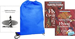 Exploring Creation with Zoology 1 w/ JUNIOR Notebooking Journal homeschool kit in a bag