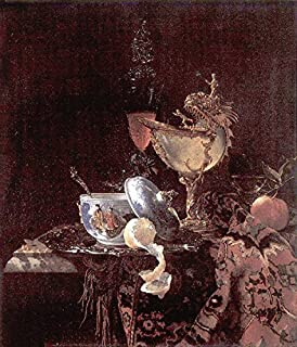 Still Life with Nautilus Cup by Willem Kalf - 20