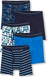 The Children's Place Boys Boxers, Pack of 5 Boxer Shorts
