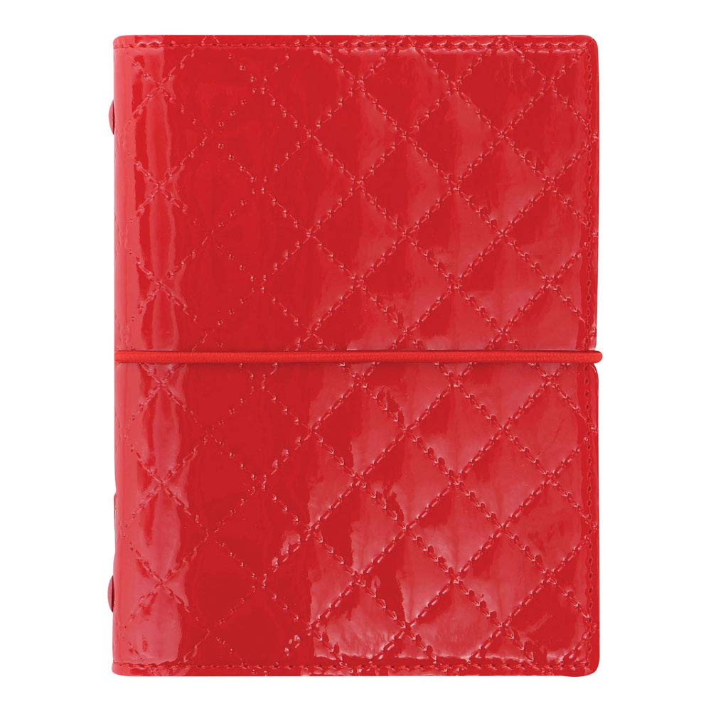 C027991-19 Domino Luxe Red Filofax 2019 Pocket Organizer 4.75 x 3.25 inches