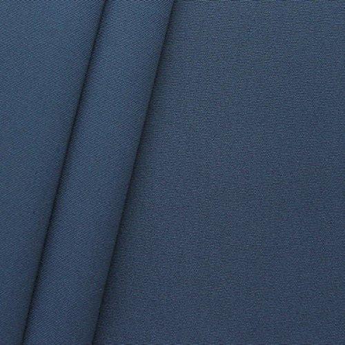 Outdoorstoff Zeltstoff Canvas Optik Meterware Dunkel-Blau