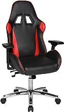 Topstar Speed Chair 2 bureaudraaistoel, gamingstoel, managersstoel, kunstleer, rood/zwart, één maat Stalen kruisvoet. Eén ...