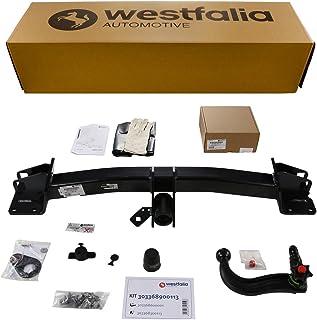 Abnehmbare Westfalia Anhängerkupplung für X5 F15 (ab BJ 11/2013), X6 F16 (ab BJ 12/2014) im Set mit 13 poligem fahrzeugspezifischen Westfalia Elektrosatz