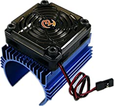Hobbywing Motor Radiator Heart Sink + 5V Fan Suitable 4465 Motors for 1/8 RC Car