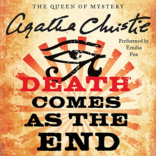 Death Comes as the End audiobook cover art