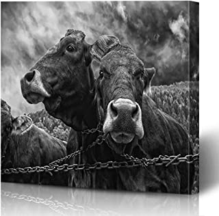 Best two brown cows painting Reviews