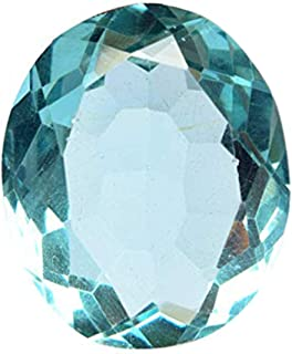 Attractive Blue London Topaz Approx 47.50 Ct. Perfect Oval Cut Loose Gemstone for Jewelry Making