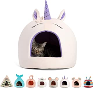 unicorn cat bed