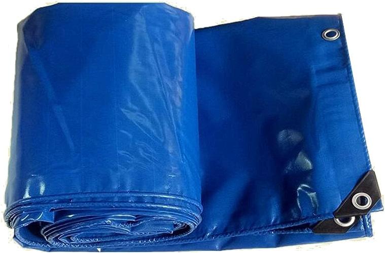 MDBLYJAuvent Pare Soleil et Tissu Froid Bache imperméable à l'eau bache Camping Tapis fret Prougeection Solaire Isolation résistant à l'usure, Haute température Anti-vieillissement, Bleu