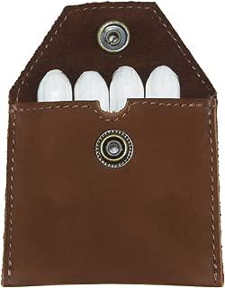 Hide & Drink, Rustic Leather Tampon Case/Condom Holder Pouch, Secret Stash Handmade Includes 101 Year Warranty :: Swayze Suede