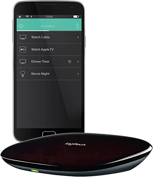 Logitech Harmony Hub For Control Of 8 Home Entertainment Devices