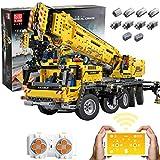 Gedar Technic Gru Gigante Doppio Telecomando con 8 Motori, 1:8 Technic Gru Set di Costruzioni, 2590 Pezzi Gru Compatibile con Lego Technic