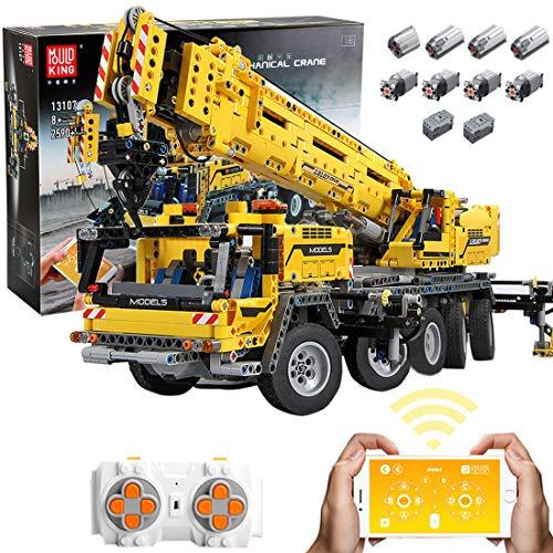 lego technics giganti Gedar Technic Gru Gigante Doppio Telecomando con 8 Motori