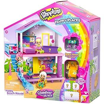 Shopkins Happy Places Rainbow Beach House Pla | Shopkin.Toys - Image 1
