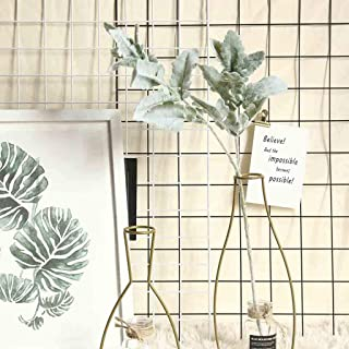 Gotian Artificial Flowers Silk Lambs Ear Leaf Spray Greenery for Home Décor Wedding, Suitable for Creating Floral Displays and Adding Color and Style Decoration