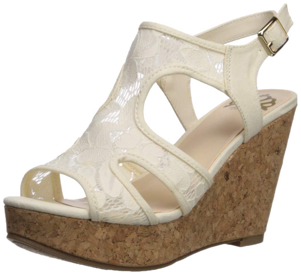 Fergalicious Womens Kenzie Wedge Sandal