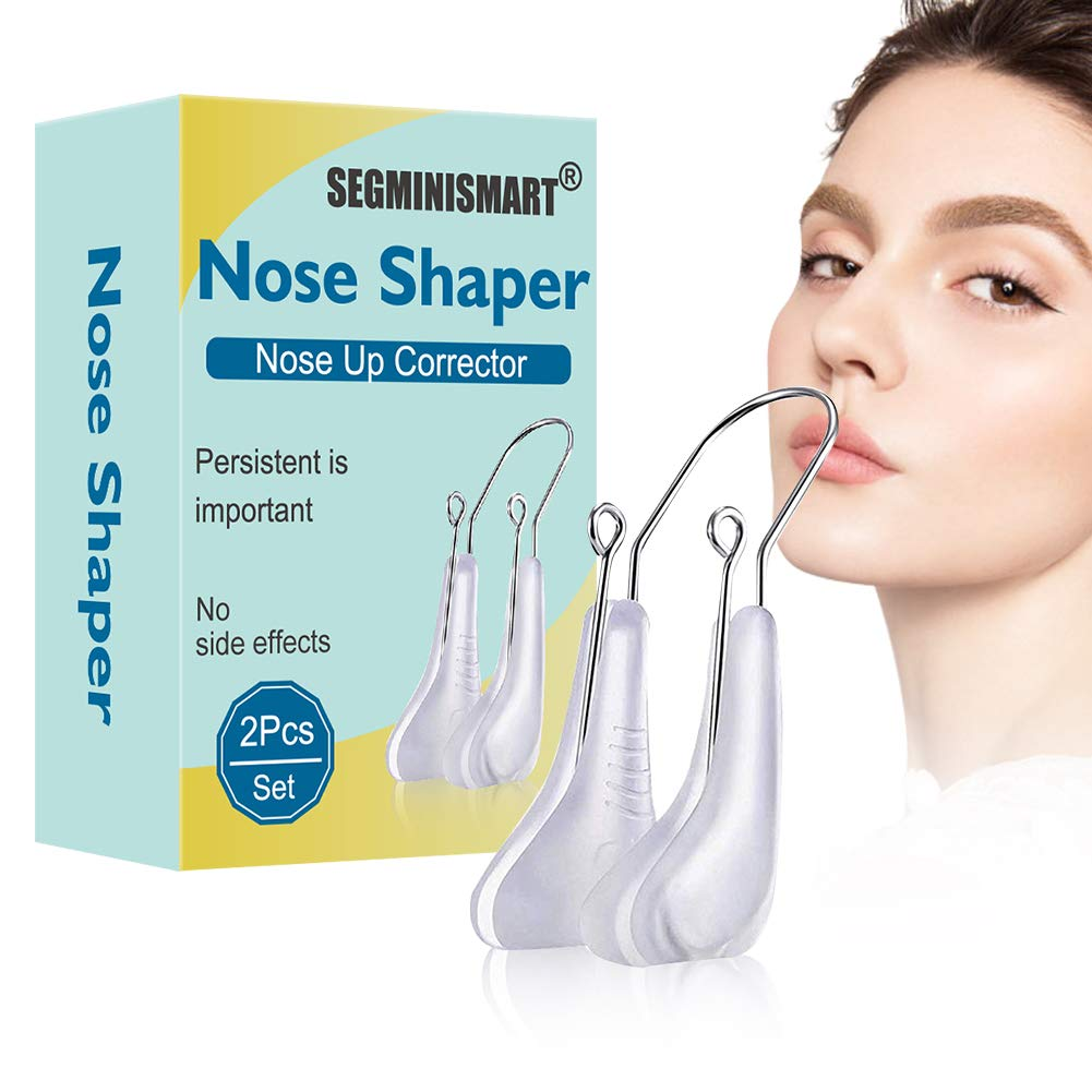 Nose Shaper,Nose Straightener Nose up,Nose Bridge Straightener Corrector Slimming Device for Wide Crooked Nose Women Men
