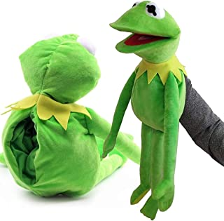 Frog Hand Puppet, Muppets Show Plush Toy, The Muppets Movie Soft Stuffed Plush Toy 23.6 Inches Children's Gifts Green