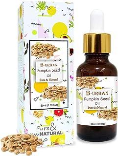 B-URBAN Pumpkin Seed Oil 100% Natural Pure Undiluted Uncut Carrier Oil 50ml