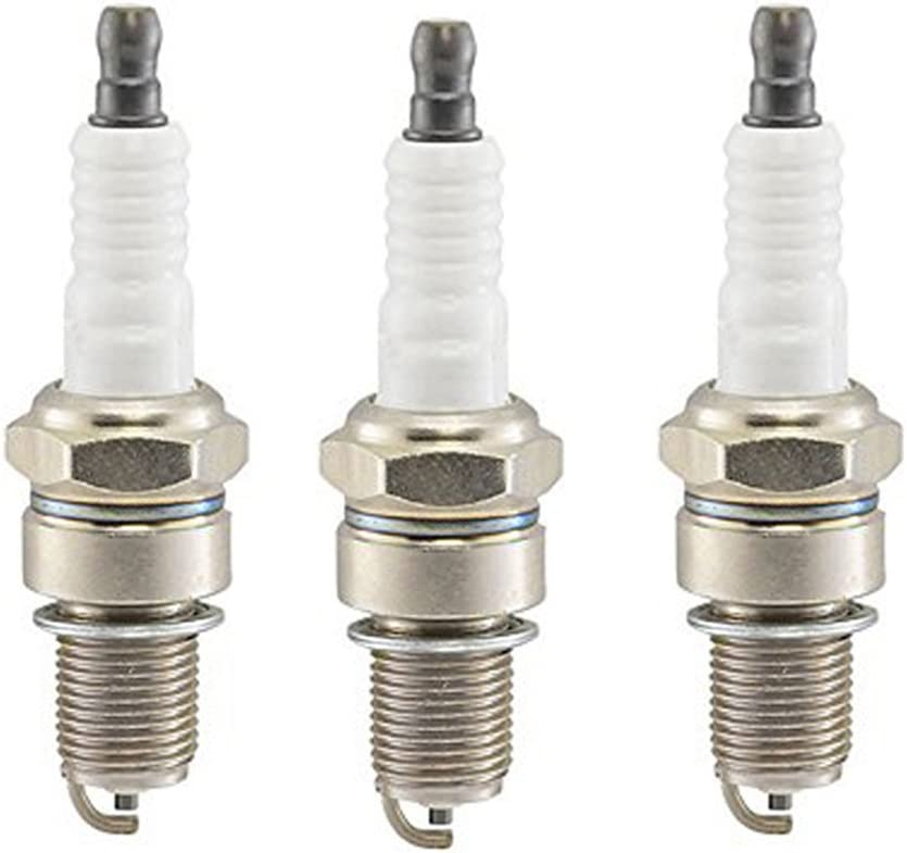 3 HIFROM Spark Plug Replacement for Torch F6RTC CUB Cadet OCC-751-10292 MTD 951-10292 Replacement for Mowers Snow Blowers Splitters Tillers