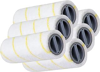 Liseng Lot de 3 paires de brosses de nettoyage pour sols durs - Pour batteries Karcher FC3 FC5