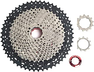 LIDAUTO Freewheel Mountain Bike MTB Bicycle Cassette Cassette Sprocket Wide Ratio Compatible 52T 11 Speed with Shimano&SRAM System