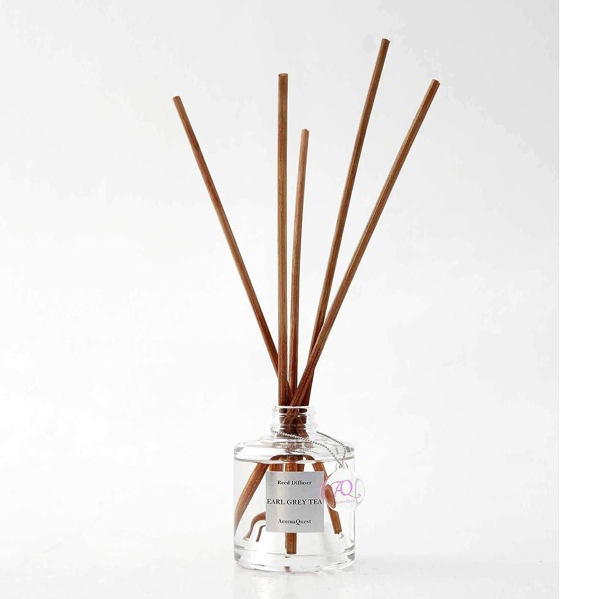 ジェム四どこにでもルームフレグランス リードディフューザー アロマディフューザー 150ml アールグレイティー EARL GREY TEA 紅茶の香り(箱?紙袋なし)