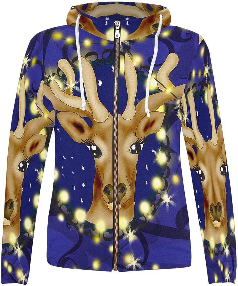 Purchase InterestPrint Women's Long-Sleeved Sweatshirt Hoodie Department store All Ov with