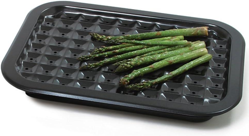 Financial sales sale Fashion Norpro Nonstick Broil Roast Pan Set X inches 12 16.5 As