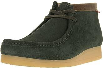 CLARKS [Stinson HI-16505] Premium Crepe Mens Shoes CLARKSGREENM