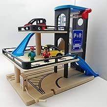 Yavso Parking Juguete DIY Garaje Coches Juguete Aparcamiento con Mochila Garaje Juguete para Ni/ños