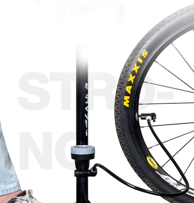 Folding Bicicleta Plegable Alta Presión Inflador Casa Baloncesto Bicicleta De Montaña Coche De La Batería Motocicleta Portátil Inflación Rápida Alto Voltaje Incorporado-H: Amazon.es: Deportes y aire libre