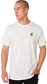 No News Men's Sensory Mens Tee Crew Neck Cotton White