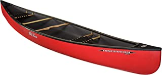 Old Town Discovery 158 Recreational Canoe, Red, 15 Feet 8 Inches