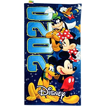 Disney 2020 Team Mickey Mouse and Friends Beach Towel, 58 Inch