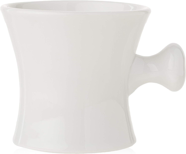Ceramic Max Fashionable 46% OFF Shaving Shave Soap Mug Handle Bowl With Ball Grip