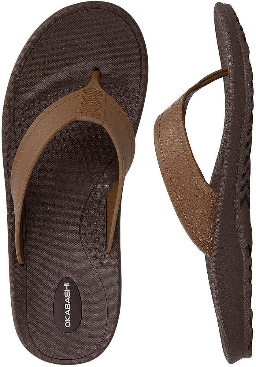 Okabashi Men's Mariner Flip Flop Sandals